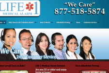 Life 1 Medical Alarm New Site